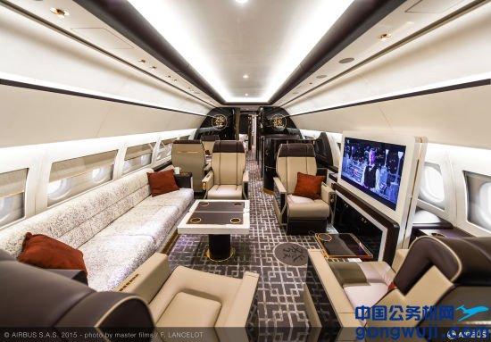 配备VVIP客舱的ACJ319公务机