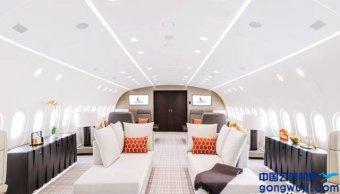 """践行""""一带一路"""",B787梦想商务机进驻中东市场"""